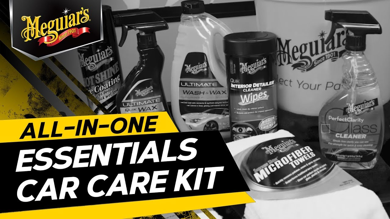 Meguiar S All In One Essentials Car Care Kit G55146 Premium