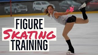 Ladies Figure Skating Training  - SALUTE |HD|