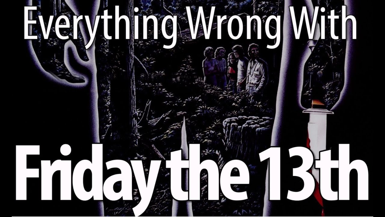 Everything Wrong With Friday The 13th (1980) - YouTube