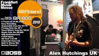 BR-800 Part  3 Digital Recorder Musikmesse 2010 Booth Demo