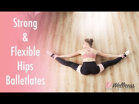 strong and flexible hips ♥ balletlates  improve middle