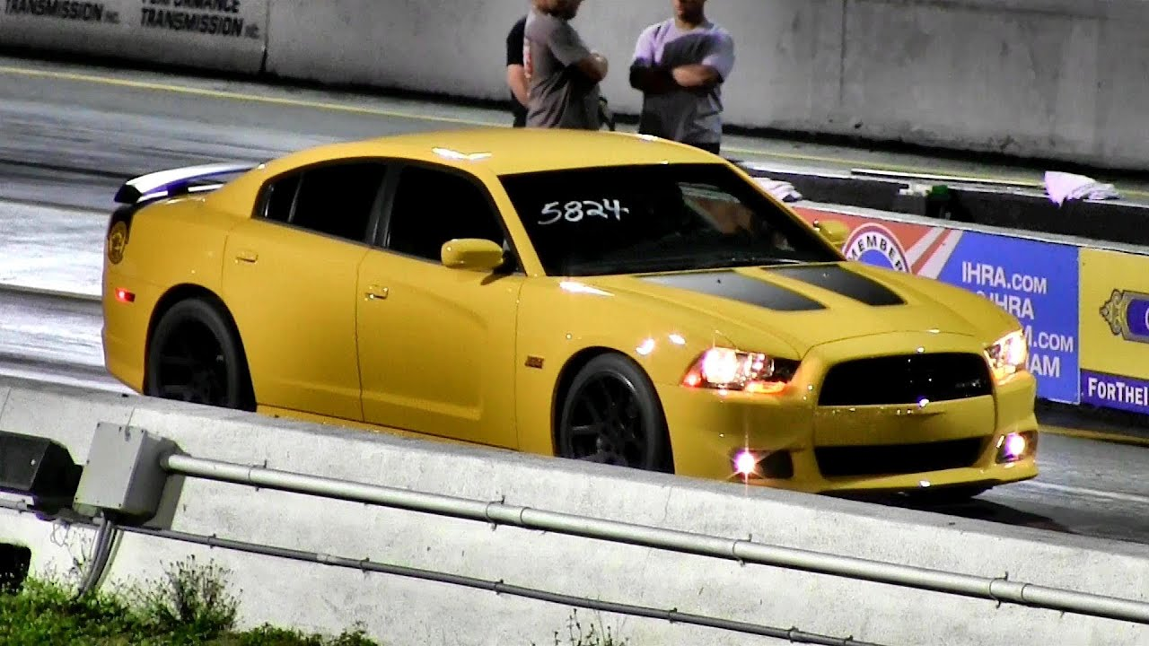 470 Hp 6 4 Liter Dodge Charger Srt8 Super Bee 1 4 Mile
