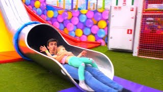Indoor Playground Daddy Finger family Song Nursery Rhymes