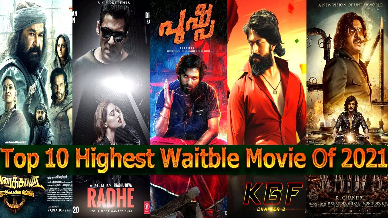 Top 10 Upcoming Big Budget Highest Waitble Movie List 2021 Include All Industry