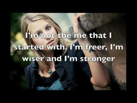 Crushed and Created-Caitlyn Smith with Lyrics on Screen