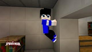 Minecraft spiderman#1 fui afetado por uma aranha radioativa