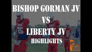 फुटबॉल - जेवी बिशप गोर्मन (NV) बनाम लिबर्टी (NV) पर प्रकाश डाला