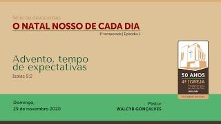 O NATAL NOSSO DE CADA DIA – 1ª temporada   Série de devocionais