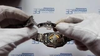Tissot T006.707.11.033.00 часы мужские механические видео обзор