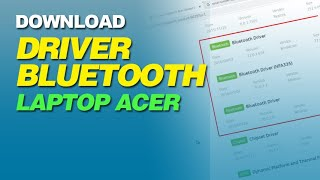 Cara Download Driver Bluetooth Laptop Acer Windows 7 8 8 1 10 Youtube