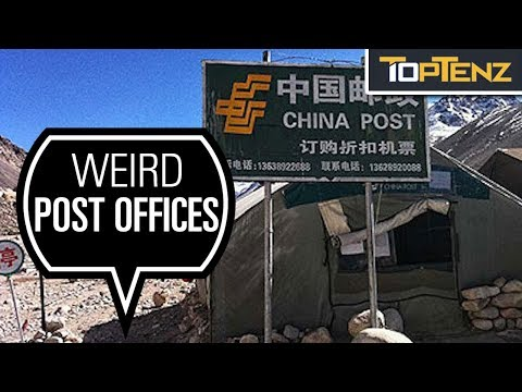 Top 10 Craziest Post Offices on Earth and Beyond