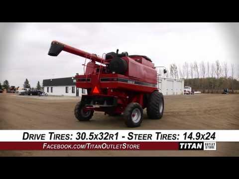 Case IH 2366 - 2153 sep, FT, RT, Chopper, Hopper Ext Combine Sold on ELS!