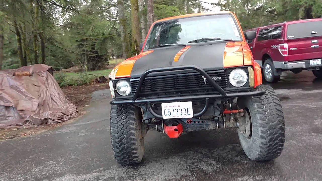 Built 1983 Toyota pickup wheeler  YouTube