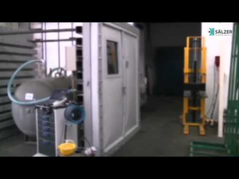 Blast test doors for petro chemical industry