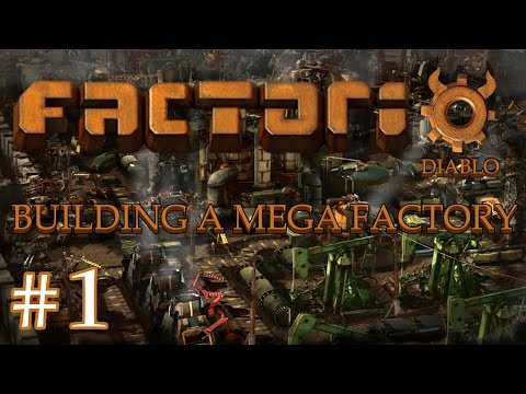 Factorio - Building a Mega Factory: Part 1: New Beginnings, Starting a new factory