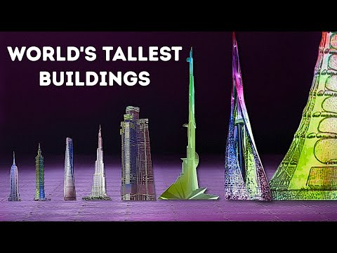 The World's Biggest Skyscrapers (Some Will Even Reach Space!)
