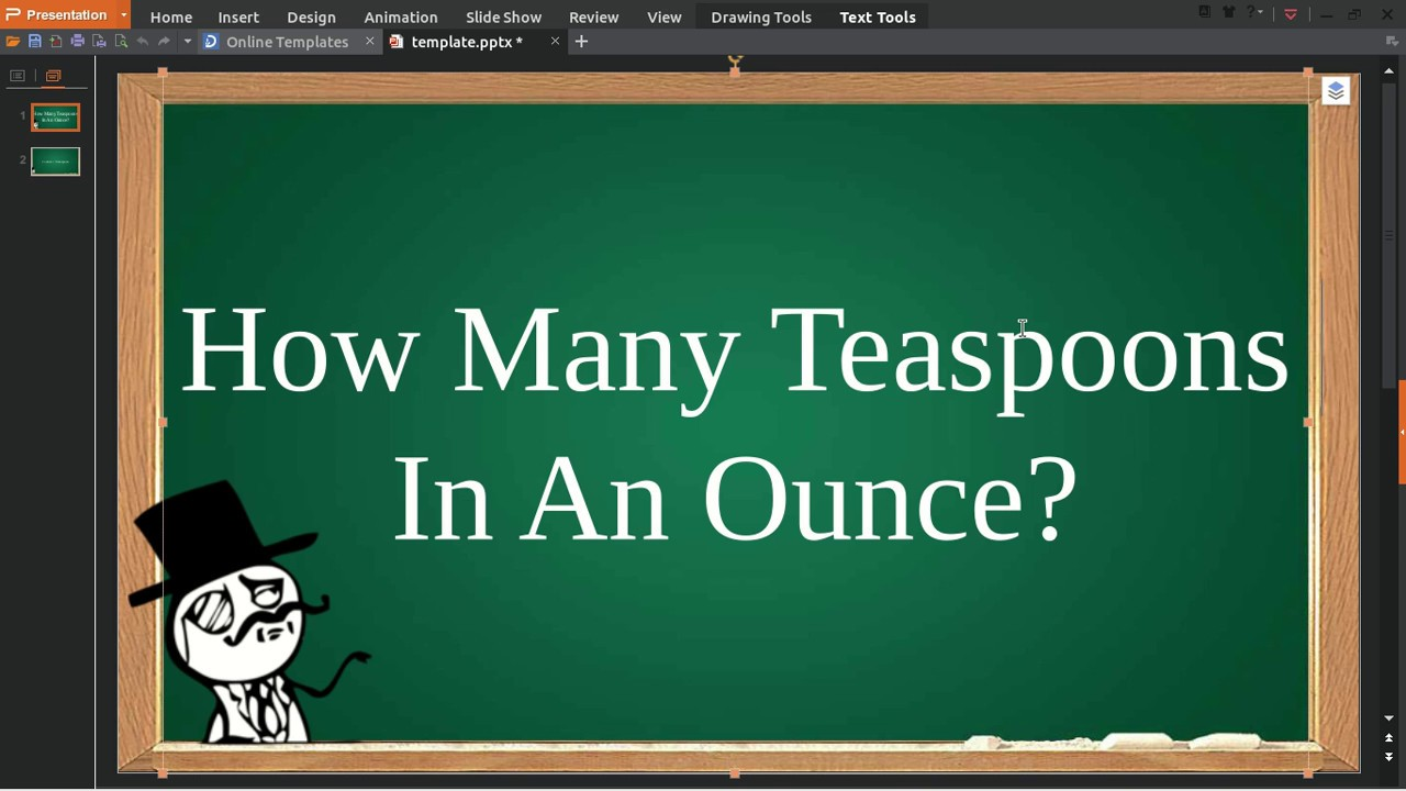 How Many Teaspoons In An Ounce