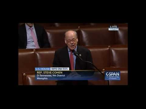 Congressman Cohen Speaks in Support of the Rapid DNA Act