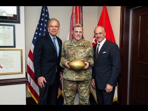 Salute to Vietnam Veterans and  NFL Legends Roger Staubach, Rocky Bleier