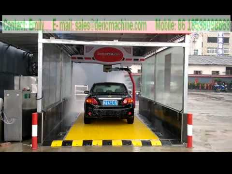 automatic touchless car washer Model P360 of shenzhen deric company