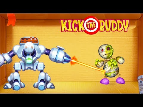 Kick the Buddy | Fun With All Weapons VS The Buddy | Android Games 2018 Gameplay | Friction Games