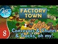 Factory Town Ep 8 MAJOR PRODUCTION LINES Extremely Alpha Let S Play Gameplay mp3