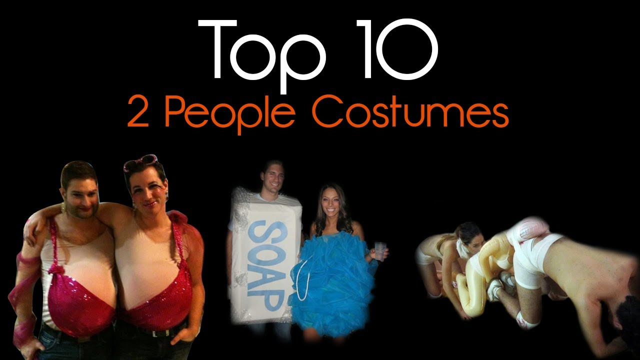 Top 10 Best Double Halloween Costumes Of All Time!  sc 1 st  YouTube & Top 10 Best Double Halloween Costumes Of All Time! - YouTube