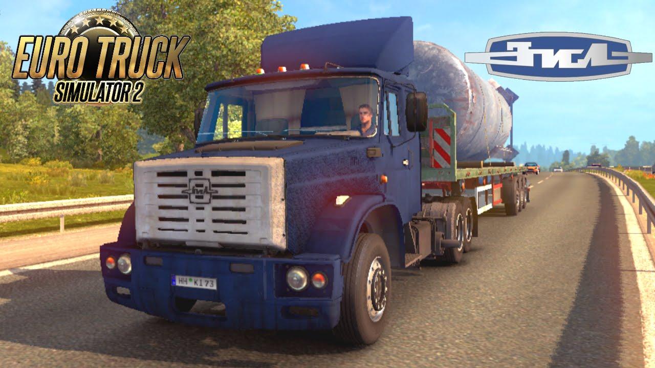 Euro Truck Simulator 2 mod truck ZIL 4421 FIX