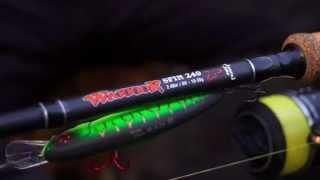 fox rage tv new warrior spin rods