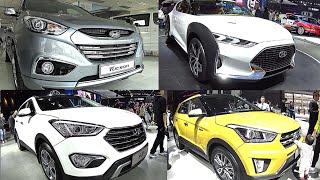 TOP  2016, 2017 Hyundai SUVs Hyundai Enduro, IX25, Santa Fe, Tucson, All new Hyundai SUVs 2016, 2017