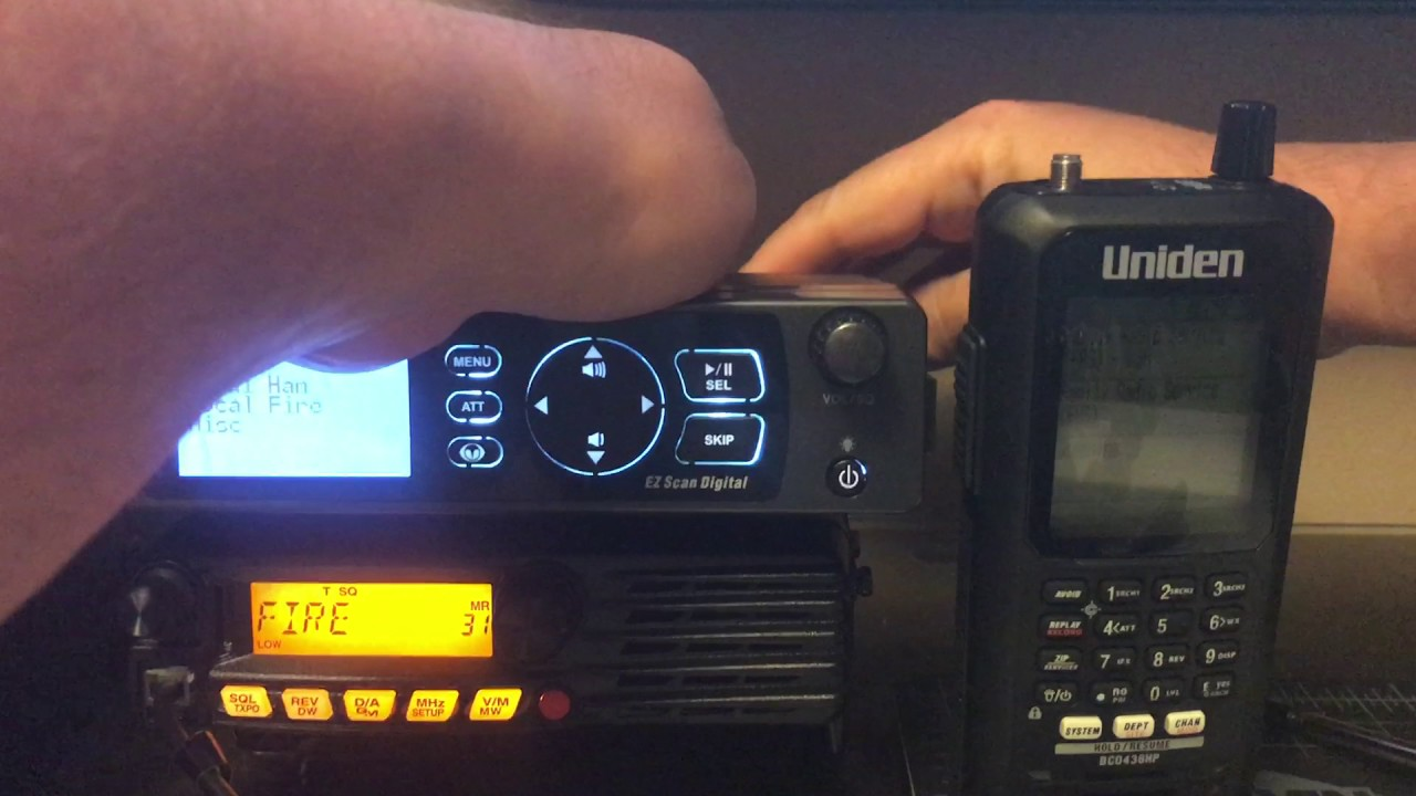 DMR Simplex Test - WS1095 vs BCD436HP **BORING VIDEO ALERT**