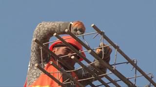 В Туркестане строят новый микрорайон
