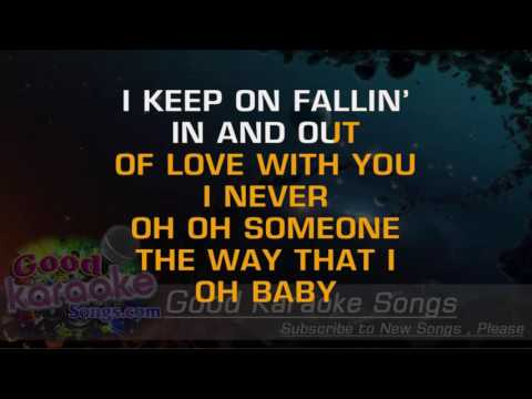 Fallin' -  Alicia Keys ( Karaoke Lyrics )