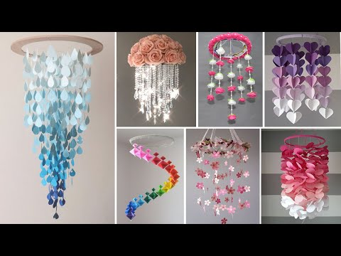 home-decorating-ideas-handmade-with-paper-|-10-beautiful-wall-hanging