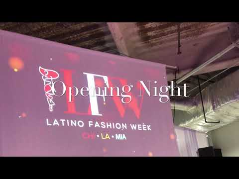 "Latino Fashion Week 2018  - ""The Evolution"""