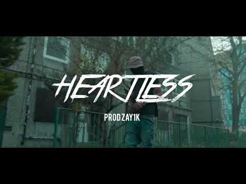 """HEARTLESS"" Ciggy Black x Sheff G x Leeky G Bando x DJ L (Trap/UK Drill Type Beat) 2018"
