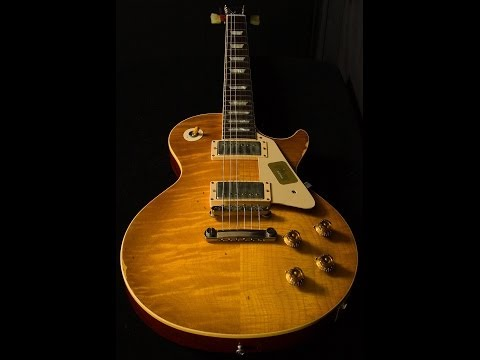 Gibson Custom Shop Collector's Choice #15 1958 Greg Martin Les Paul  •  SN: CC15A039