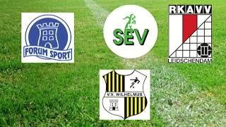 Voetbal Special Leidschendam-Voorburg RKAVV Forum Sport SEV Wilhelmus