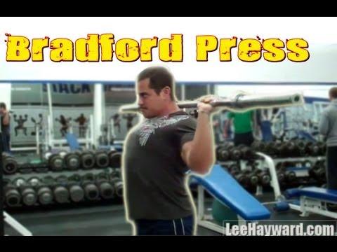 Bradford Press Barbell Shoulder Press Variation
