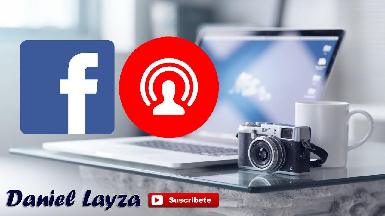 Lenovo como estar en vivo en facebook Pad