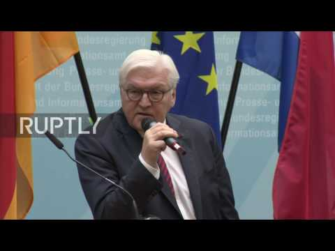 Germany: 'This Europe is not guaranteed' - Steinmeier
