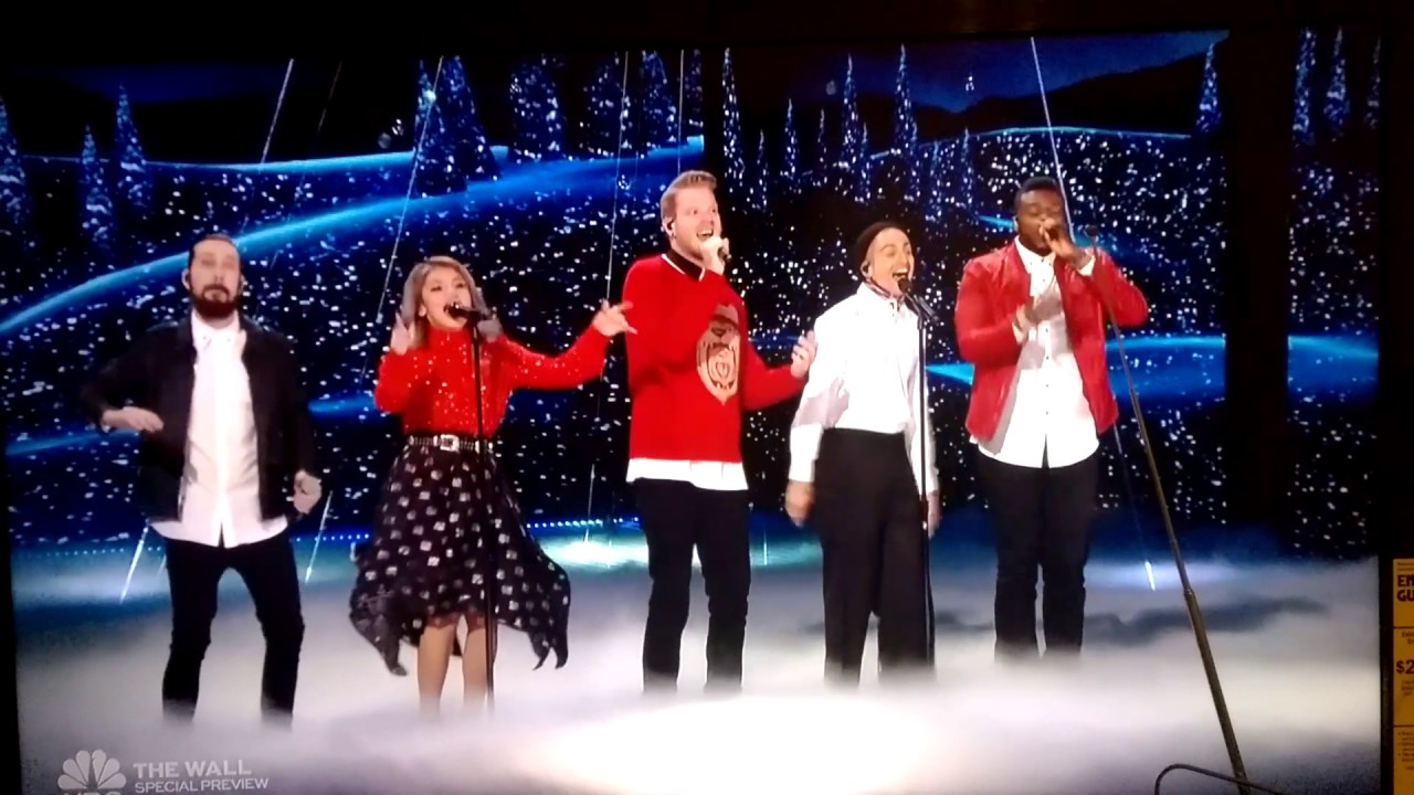 Americas Got Talent Christmas.Pentatonix Sings Merry Christmas Happy Holidays On American S Got Talent 2016