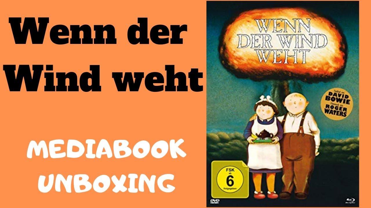 Wenn Der Wind Weht Mediabook Unboxing Deutsch When The Wind Blows Blu Ray Mediabook Turbine Youtube