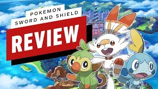 Pokemon Sword and Pokemon Shield Review (Video Game Video Review)