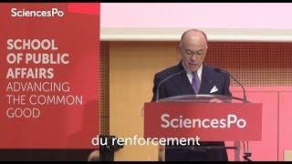 Terrorisme et sécurité : Bernard Cazeneuve et Jeh Johnson à Sciences Po