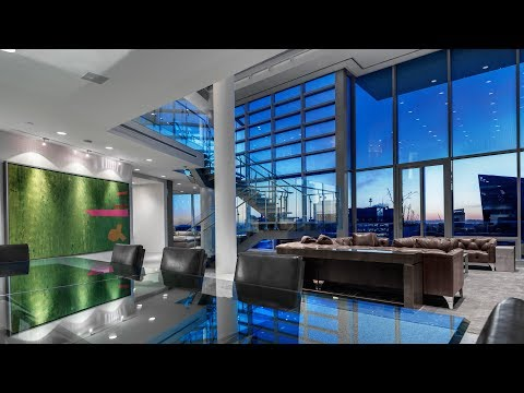A Magnificent Penthouse Residence Located Atop The Fairmont Pacific Rim Hotel