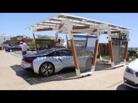 BMW Designworks Solar Carport and BMW i Wallbox Pro