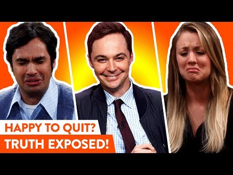 The Big Bang Theory Cast: Real Reactions To Show Ending  ⭐OSSA