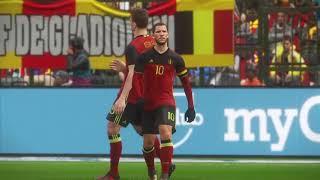 México vs Bélgica amistoso internacional