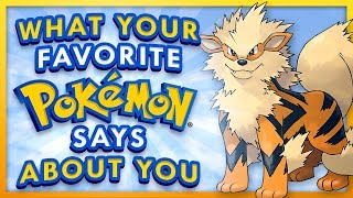 What Your Favorite Pokemon Says About You